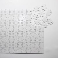 blank sublimation puzzle